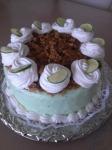 Banana Lime Pie Cake