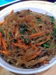 Japchae (Korean Glass Noodles)
