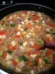 Turkey Tomato Mabo Tofu